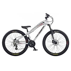 CBR Sideswipe Men's Bike - Silver, 26 Inch