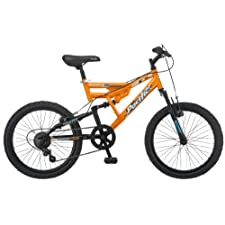 Pacific Boy's Chromium Mountain Bike Orange One Size