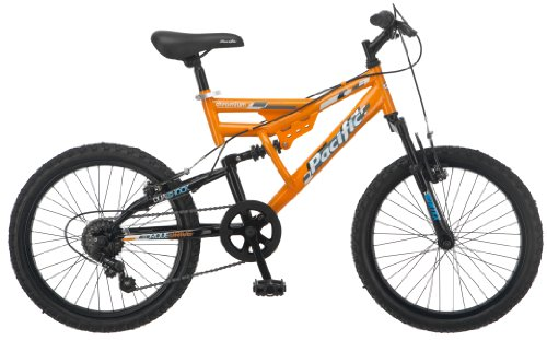 Pacific Boy's Chromium Mountain Bike, Orange, One Size