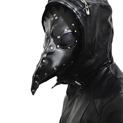 (クレア) n'CREA ペストマスク コスチューム用小物 ブラック フリーサイズ