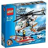 Lego City - 60013 - Jeu de Construction - L' hélicoptère des Garde - Côtes