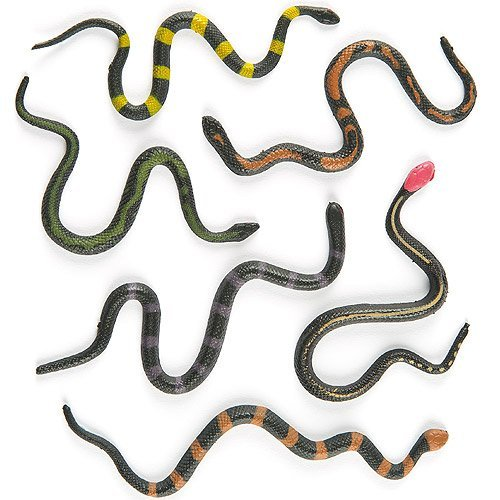 pack-of-12-black-stretchy-snakes-halloween-party-bag-fillers-custome-accessories