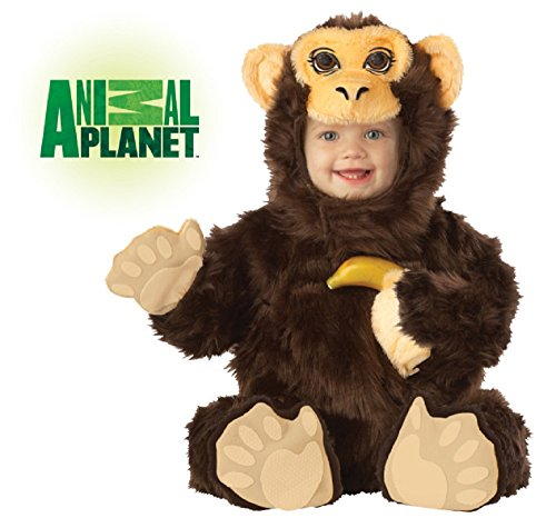 Baby Animal Planet Chimpanzee Costume Size 12-18 Months