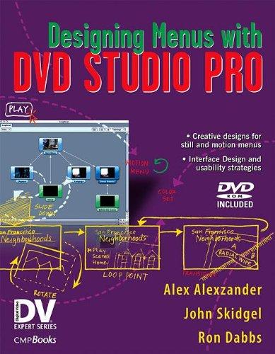 Designing Menus with DVD Studio Pro