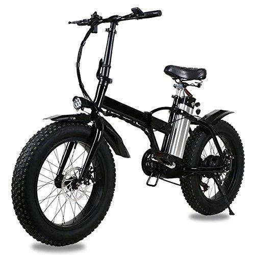 RCP–eroader20-50,8cm Fat Tire Electric Power Bike für Jungen und Mädchen–faltbar Mountain Fahrrad mit 36V10Ah 250W heavy duty Akku, Shimano Meter 7Speed LCD