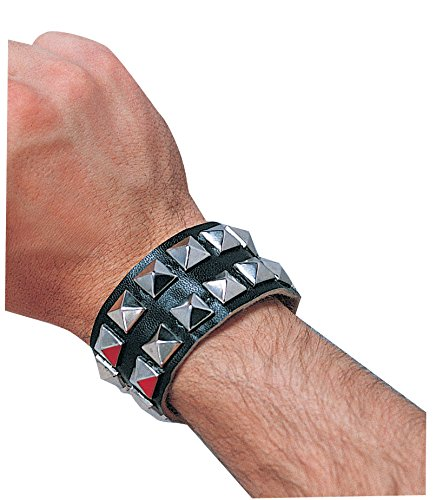 Costume Culture Men's Double Studded Bracelet