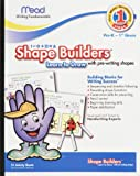 Shape Builders Learn To Draw, 10 x 8 Inches, 21 Count (48040)
