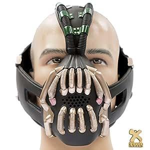 Batman TDKR Bane Mask, Bronze-coloured , Flexiable, New Version 3 Xcoser