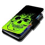 Book Style Handy Tasche - Design G23 - für ZTE Blade L3 -