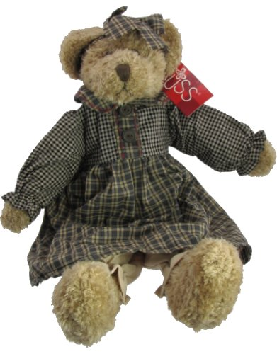 Russ Berrie Bears of the Past Bianca Dressed
