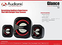 Audionic Glance G5 2.1 Channel Speakers