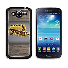 buy Msd Samsung Galaxy Mega 5.8 Aluminum Plate Bumper Snap Case Saxophone Vintage For Text On Grunge Background Image 19337423