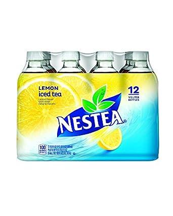 Nestea Iced Tea, Lemon, 16.9 Fluid Ounce (Pack of 12)