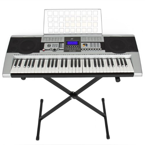 61 Key Electronic Music Keyboard Electronic Piano with Stand