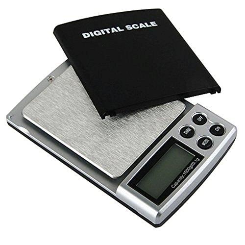 1000 G/0.1 g balance digitale, balance de précision, avec étui en cuir à rabat très précisément-easy-up