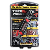 Tiger Wrench TW-MC12/4 ONTEL 48 Tools In One Socket | Works with Spline Bolts, 6-Point, 12-Point, Torx, Square Damaged Bolts and Any Size Standard or Metric