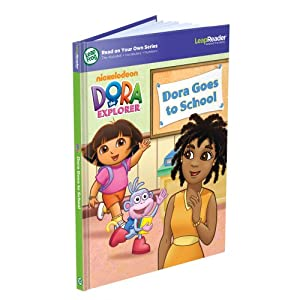 LeapFrog LeapReader Book: Dora the Explorer Dora Goes to School (Works with Tag)