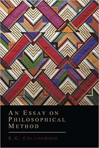 An Essay on Philosophical Method written by R. G. Collingwood
