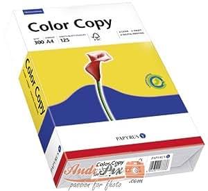 """SchneiderSöhne Papier - universel """"Color Copy"""", A4, 300 g/m2 extra blanc, uni, surface satinée, certifié FSC pour imprimantes à jet d'encre, laser et photocopieus"""