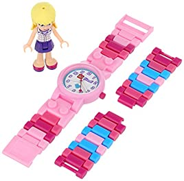 Lego Kids' 9001024 LEGO Friends Stephanie Kids' Watch With Minidoll