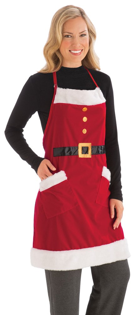 Christmas Santa Kitchen Apron