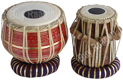 Red Colour Brass Tabla 2.5 Kg (PDI-FC)