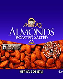 Madi Ks Roasted And Salted Almonds 2-ounce Bags Pack Of 36 from Madi K's