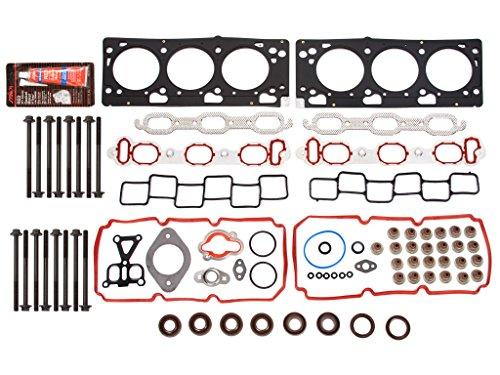 Fits 97-98 Ford F150 E150 E250 4.2 12-Valve OHV Head Gasket Head Bolts Set VIN 2