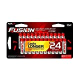 FUSION by Rayovac High-Performance AAA Alkaline Batteries, 24-count