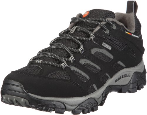 merrell-moab-gore-tex-mens-lace-up-low-rise-hiking-shoes-black-10-uk