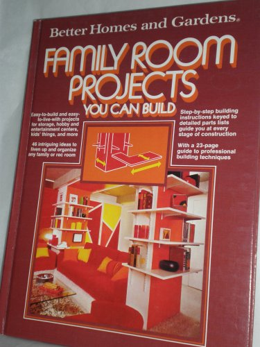 Family Room Projects You Can Build