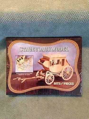 STAGECOACH MODEL KIT BY BITS AND PIECES by Bits and Pieces (Stagecoach Model compare prices)