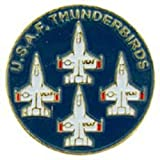 United States Air Force Thunderbirds Logo Pin 1""