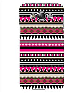 ColourCraft Tribal Pattern Design Back Case Cover for SAMSUNG GALAXY GRAND 3