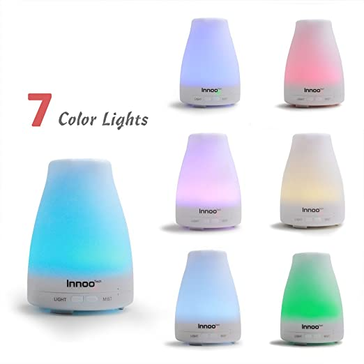 7 Color Lights Essential Oil Diffuser