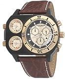 Akribos XXIV Men's AK405RG 'Time Machine' Triple Time-Zone S