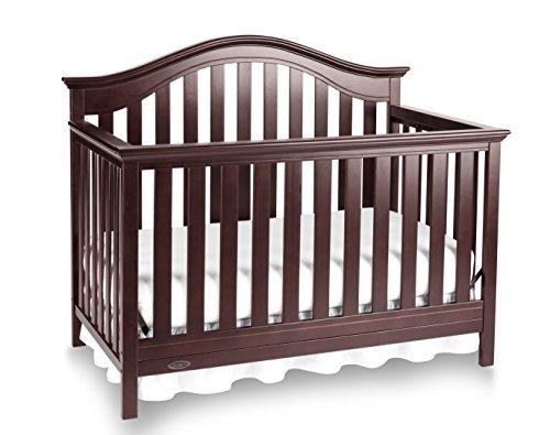 Graco Bryson 4-in-1 Convertible Crib, Espresso (Graco Bed Frame compare prices)