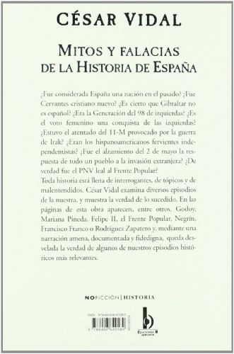 Mitos y falacias de la historia de Espana (Spanish Edition)