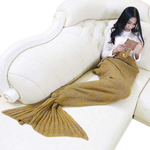 abary-adult-mermaid-tail-soft-knit-crochet-bedroom-sofa-sleeping-all-seasons-blanket-yellow