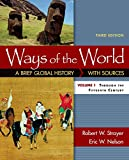 img - for Ways of the World: A Brief Global History with Sources, Volume I book / textbook / text book
