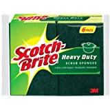Scotch-Brite Heavy Duty Scrub Sponge, 6-Count