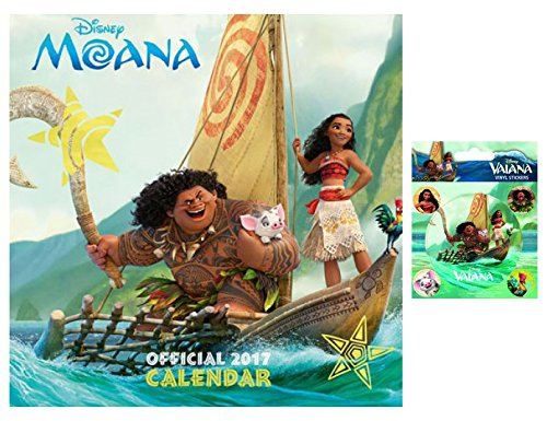 Moana Official Calendar 2017 - Square with Sticker