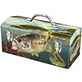 Sainty Art Works 24-701 A Pig, a Hog and a Log Art Deco Fishing Inspired Tool Box