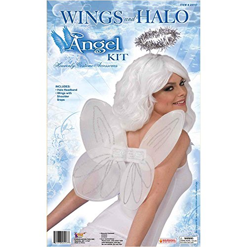 Angel Wings & Halo Kit - One Size