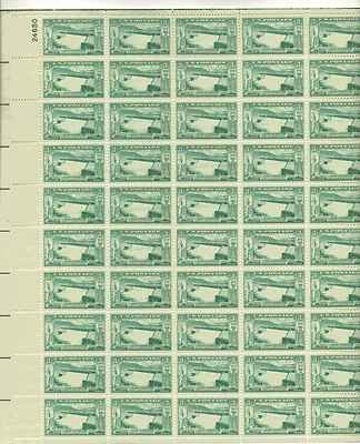 Spillway, Grand Coulee Dam Sheet of 50 x 3 Cent US Postage Stamps NEW