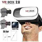 ESTAR Adjust Cardboard 3D VR Virtual Reality Headset 3D Glasses Adjust VR BOX Virtual Reality 3D Glasses For IPhone...