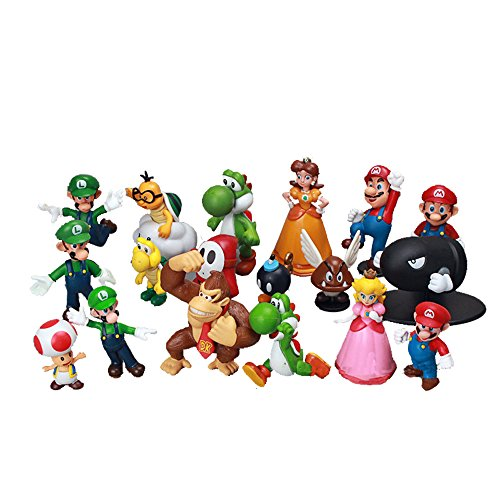12PCS Super MarioBros 1-2.5