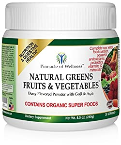 Amazon Com Natural Greens Fruits Amp Vegetables Complete
