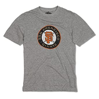 San Francisco Giants Retro Baseball Logo T-Shirt by Red Jacket by Red Jacket