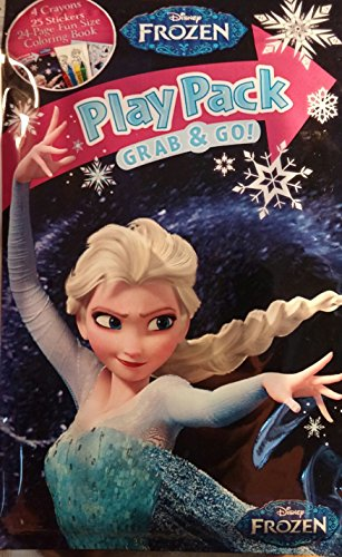 Disney Frozen Elsa Play Pack Grab & Go - 1